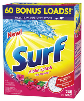 Surf Aloha Splash 240 Loads Laundry Detergent 312 Oz Box