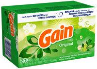 Gain with FreshLock Original Dryer Sheets 200 ct Carton