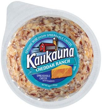 Kaukauna Cheddar Ranch Spreadable Cheeseball 10 oz
