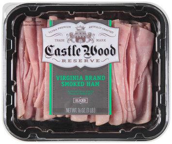 Castle Wood® Reserve Sliced Virginia Brand Smoked Ham