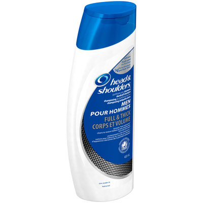 Full & Thick Head and Shoulders Full & Thick Dandruff Shampoo for Men 13.5 Fl Oz