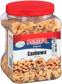 Stater Bros.® Original Whole Cashews 34 oz. Canister