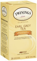 Twinings® Classics Earl Grey Tea Naturally Decaffeinated