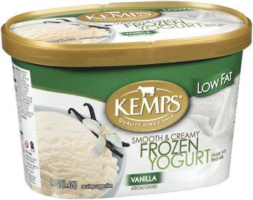 Kemps Vanilla Low Fat Frozen Yogurt 1.5 Qt Carton