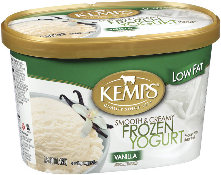 Kemps Vanilla Low Fat Frozen Yogurt 15 Qt Carton Reviews 2019
