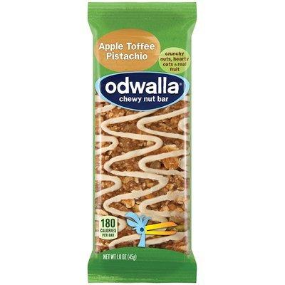 Odwalla Chewy Nut Bar Apple Toffee Pistachio 1.6 oz Wrapper