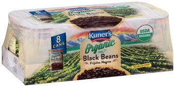 Kuner's® Organic Black Beans 8-15 oz. Cans