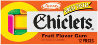 Chiclets Fruit Flavor