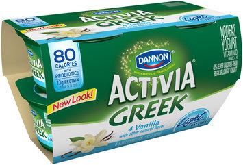 Activia Greek Light Yogurt Vanilla