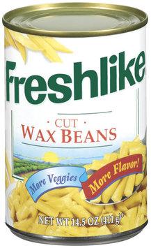 Freshlike Cut Wax Beans 14.5 Oz Can