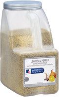 McCormick® Culinary™ Lemon & Pepper Seasoning Salt 7.5 lb. Jug