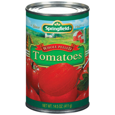 Springfield® Whole Peeled Tomatoes 14.5 oz. Can