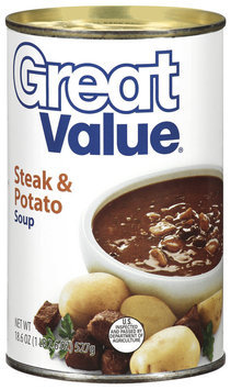 Great Value Steak & Potato Soup 18.6 Oz Can