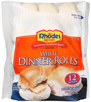 Rhodes Bake-N-Serv® Frozen White Dinner Rolls Dough 12 ct Bag