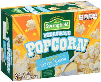 Springfield® Microwave Popcorn 8.7 oz. Box