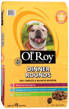 ol' roy® dinner rounds dog food