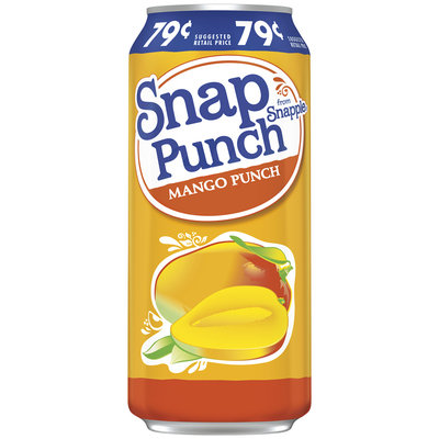 Snapple Snap Punch Mango Punch Juice
