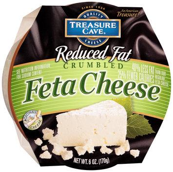 Treasure Cave® Reduced Fat Crumbled Feta Cheese 6 oz. Tub