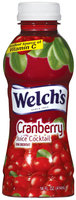 Welch's® Single Serve Cranberry Cocktail Juice Drink