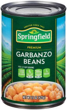 Springfield® Premium Garbanzo Beans 15 oz. Can
