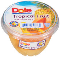 Dole® Tropical Fruit in 100% Fruit Juice 7 oz. Cup