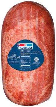 Plumrose Ham Flat Buffet Smoked Food Service 21.1 Lb