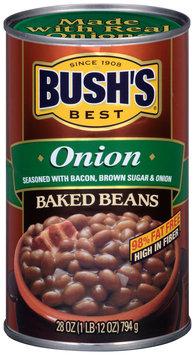 Bush's Best® Onion Baked Beans 28 oz. Can