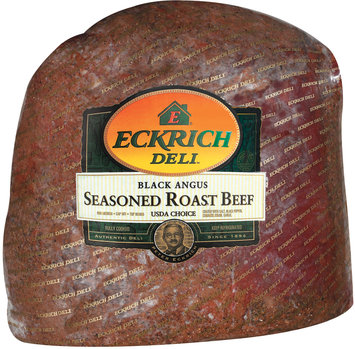 Eckrich Black Angus Seasoned Roast Beef Deli - Roast Beef
