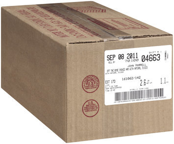 John Morrell Off The Bone Homestyle Carved Smoked Ham Lunchmeat 7 Oz Tub