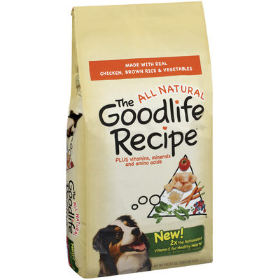 Archived The Goodlife Recipe Archived W/Chicken Brown Rice & Vegetables Dry Dog Food 7 Lb Bag