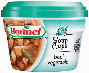 HORMEL Beef Vegetable Soup MW Cup
