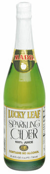 Lucky Leaf  Sparkling Cider 750 mL Bottle