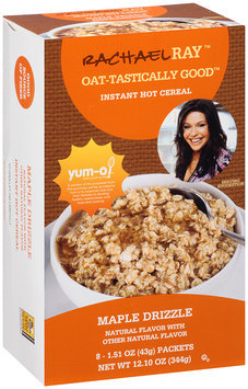 Rachael Ray™ Oat-tastically Good™ Instant Hot Cereal Maple Drizzle 8 ct. 12.10 oz. Box