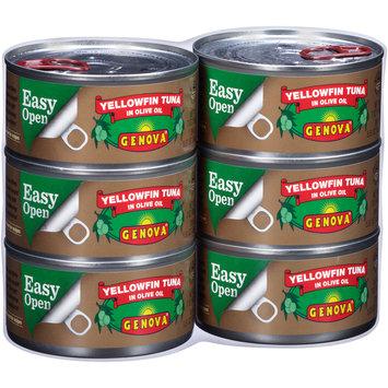 Genova® Yellowfin Tuna in Olive Oil 6-7 oz. Cans