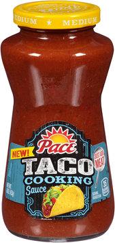 Pace® Taco Medium Cooking Sauce 16 oz. Jar