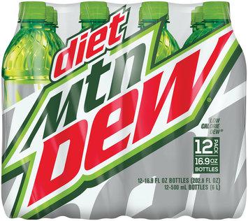 Diet Mountain Dew® 12 Pack 16.9 fl. oz. Plastic Bottles