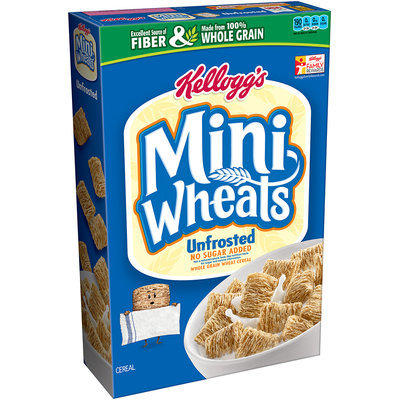 Kellogg's Mini-Wheats Unfrosted Cereal
