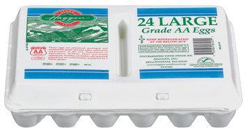 Haggen Large Grade AA Eggs 24 Ct Tray