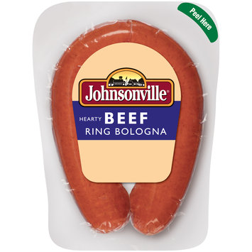 Johnsonville Beef Ring Bologna 14oz pkg (101610)
