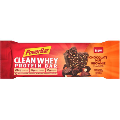 PowerBar Clean Whey Chocolate Nut Brownie Protein Bar