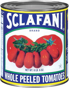 Sclafani Whole Peeled Tomatoes 102 Oz Can