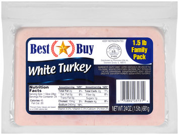 Best Buy White Turkey