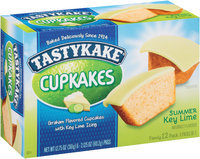 Tastykake® Summer Key Lime Cupcakes
