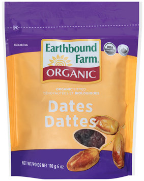 Earthbound Farm® Organic Pitted Dates 6 oz. Pouch