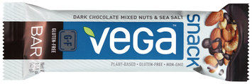 Vega™ Dark Chocolate Mixed Nuts & Sea Salt Snack Bar 1.48 oz. Wrapper