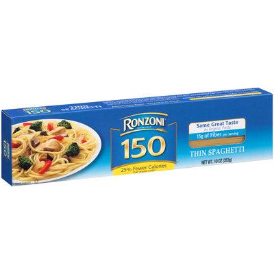 Ronzoni 150® Thin Spaghetti 10 oz. Box
