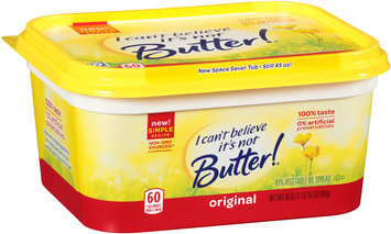 I Can't Believe It's Not Butter!® Original Spread 30 oz. Tub