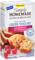 Fleischmann's® Simply Homemade® Raspberry Muffin & Bread Baking Mix 13.4 oz. Box