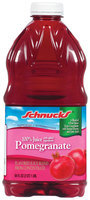 Schnucks 100% Pomegranate Juice 64 Oz Plastic Bottle
