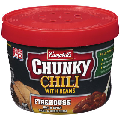Campbell's® Chunky Chili with Beans Firehouse Hot & Spicy Beef & Bean CHili 15.25 oz.